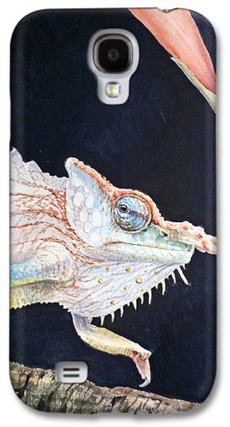 Chameleon Galaxy S4 Cases - Chameleon Galaxy S4 Case by Irina Sztukowski