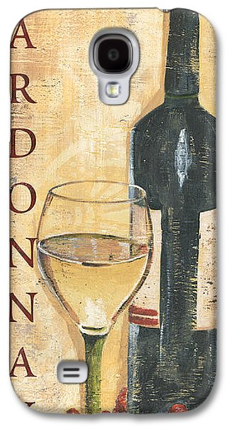 Chardonnay Wine And Grapes Galaxy S4 Case by Debbie DeWitt