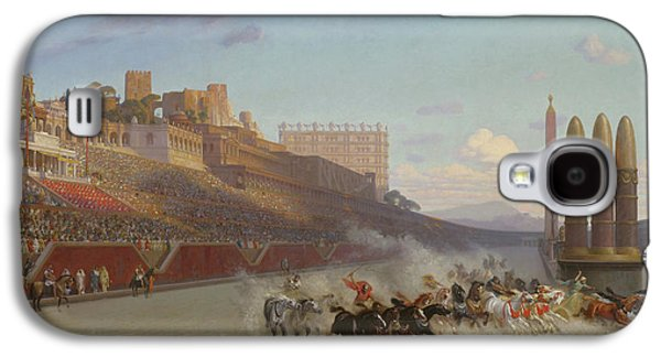 Chariot Race Galaxy S4 Case by Jean Leon Gerome