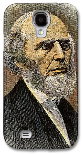 Sideburns Galaxy S4 Cases - Charles Grandison Finney Galaxy S4 Case by Granger