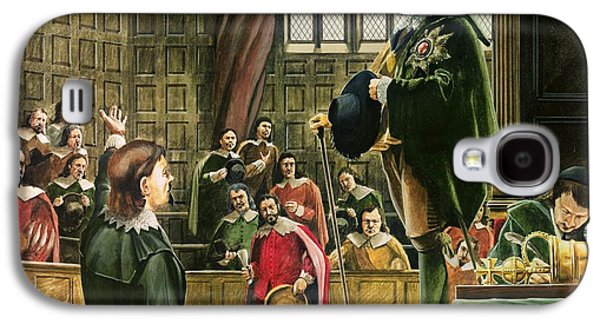 Charles I In The House Of Commons Galaxy S4 Case by English School