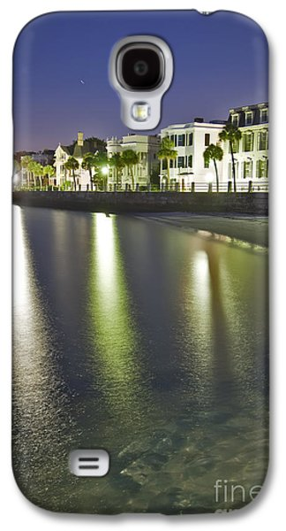 Historic Home Galaxy S4 Cases - Charleston Battery Row At Dawn Galaxy S4 Case by Dustin K Ryan