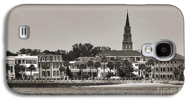 Historic Home Galaxy S4 Cases - Charleston Battery South Carolina Sepia Galaxy S4 Case by Dustin K Ryan