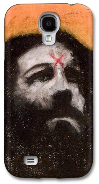 Beatles Pastels Galaxy S4 Cases - Charlie Is Man Galaxy S4 Case by Sam Hane