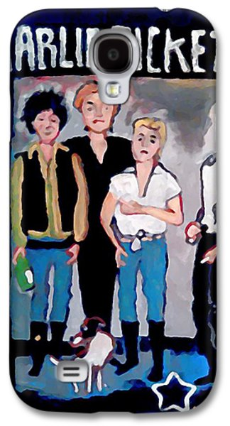 Charlie Pickett And The Eggs Galaxy S4 Case by Gregory McLaughlin