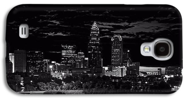 Charlotte Digital Galaxy S4 Cases - Charlotte North Carolina Galaxy S4 Case by Chris Flees