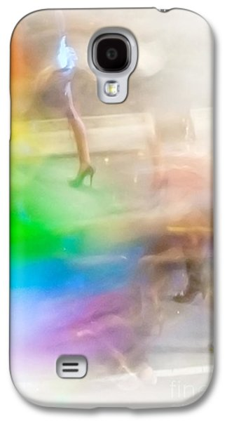 Lesbian Galaxy S4 Cases - Chasing The Rainbow Galaxy S4 Case by Az Jackson