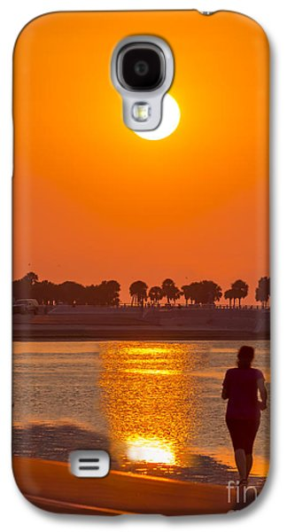 Waterscape Galaxy S4 Cases - Chasing The Sunset Galaxy S4 Case by Marvin Spates