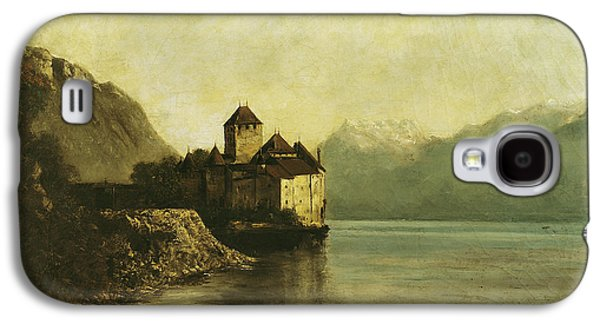 Chateau De Chillon Galaxy S4 Case by Gustave Courbet