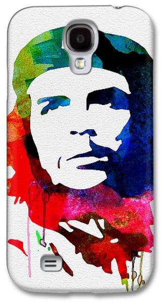 Che Guevara Watercolor 2 Galaxy S4 Case by Naxart Studio