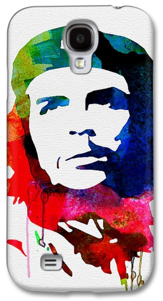 Che Guevara Watercolor 2 Galaxy S4 Case by Naxart Studio