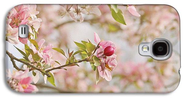 Cherry Blossoms Galaxy S4 Cases - Cherry Blossom Delight Galaxy S4 Case by Kim Hojnacki