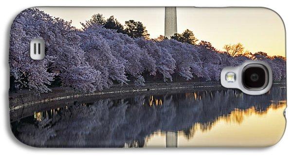 Cherry Blossom Festival - Washington Dc Galaxy S4 Case by Brendan Reals