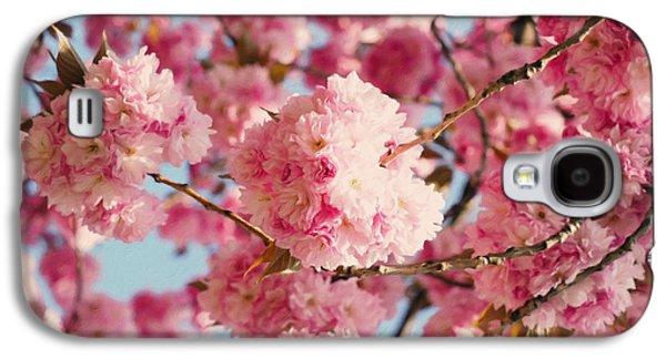 Cherry Blossoms Galore Galaxy S4 Case by Georgiana Romanovna