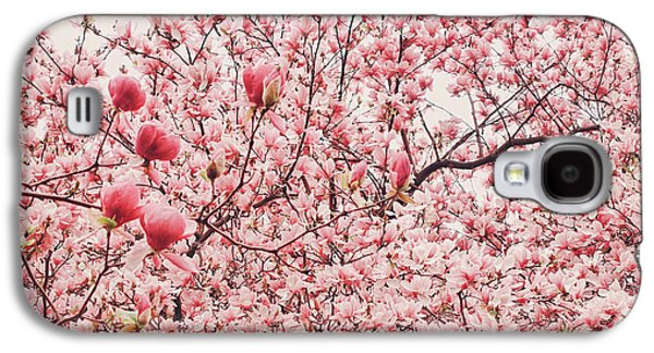 Cherry Blossoms Galaxy S4 Cases - Cherry Blossoms Galaxy S4 Case by Vivienne Gucwa