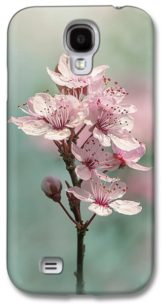 Cherry Clouds Galaxy S4 Case by Jacky Parker