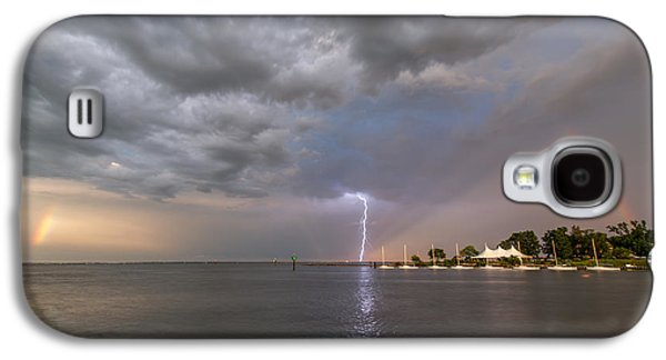 Chesapeake Bay Rainbow Lighting Galaxy S4 Case by Jennifer Casey