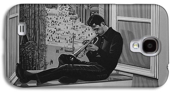 Chet Baker Galaxy S4 Case by Paul Meijering