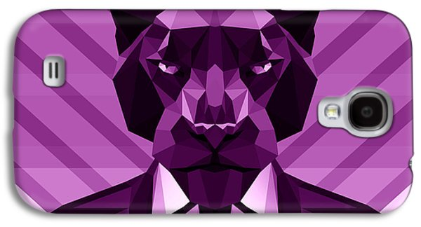 Chevron Panther Galaxy S4 Case by Filip Aleksandrov