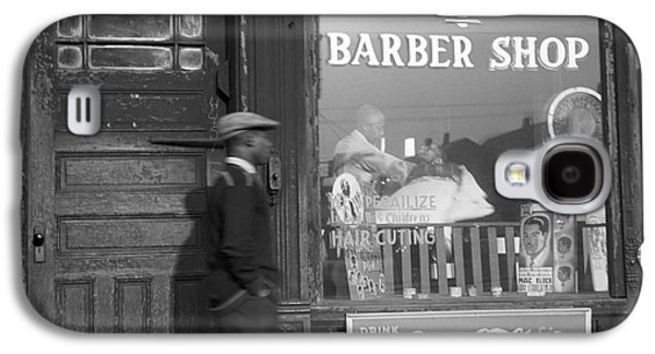 African-american Galaxy S4 Cases - Chicago: Barber Shop, 1941 Galaxy S4 Case by Granger