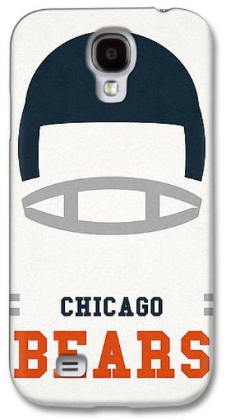 Chicago Bears Vintage Art Galaxy S4 Case by Joe Hamilton