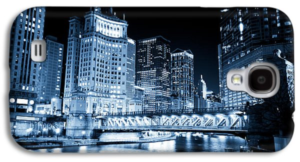 Chicago Downtown Loop At Night Galaxy S4 Case by Paul Velgos