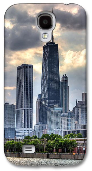 Chicago Galaxy S4 Cases - Chicago from the Pier Galaxy S4 Case by Joshua Ball