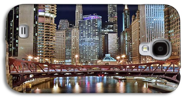 Chicago Full City View Galaxy S4 Case by Frozen in Time Fine Art Photography