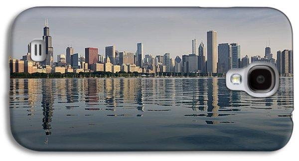 Schwartz Galaxy S4 Cases - Chicago Morning July 2015 Galaxy S4 Case by Donald Schwartz