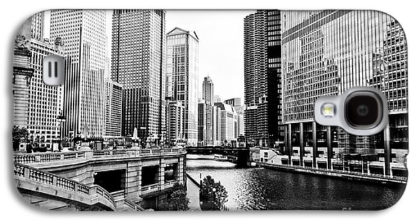 Chicago River Buildings Architecture Galaxy S4 Case by Paul Velgos