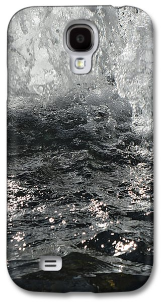 Colorful Abstract Galaxy S4 Cases - Chicago Riverwalk Fountain - Detail Galaxy S4 Case by Richard Andrews