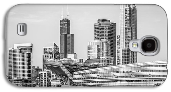 Chicago Skyline With Soldier Field And Willis Tower  Galaxy S4 Case by Paul Velgos