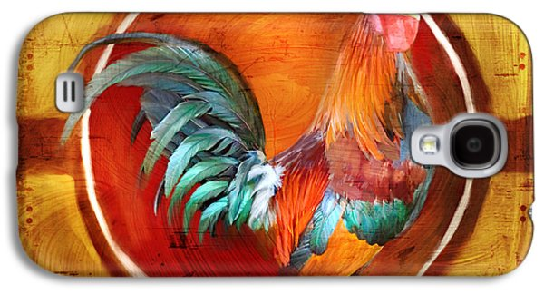 Brave Mixed Media Galaxy S4 Cases - Chicken Little Galaxy S4 Case by Joel Payne