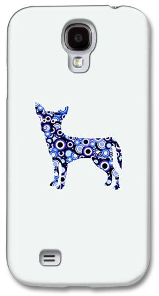 Chihuahua - Animal Art Galaxy S4 Case by Anastasiya Malakhova