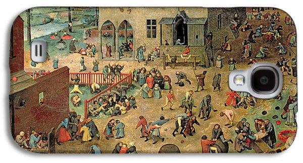 Children's Games Galaxy S4 Case by Pieter the Elder Bruegel