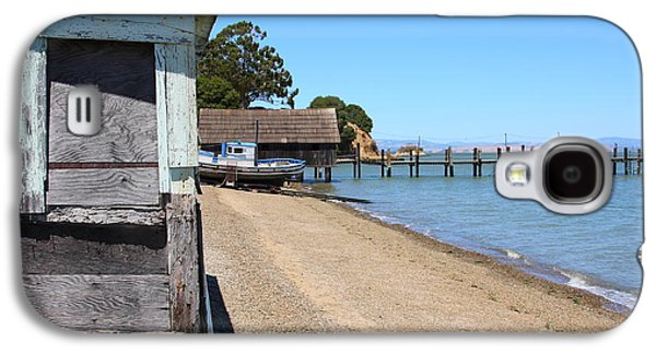 China Beach Galaxy S4 Cases - China Camp in Marin CA Galaxy S4 Case by Wingsdomain Art and Photography