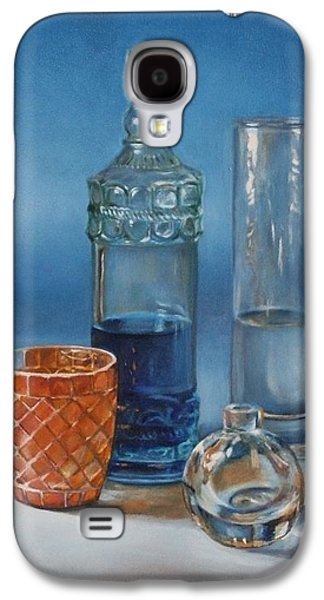 Water Jars Paintings Galaxy S4 Cases - Chip Galaxy S4 Case by Amanda Decker