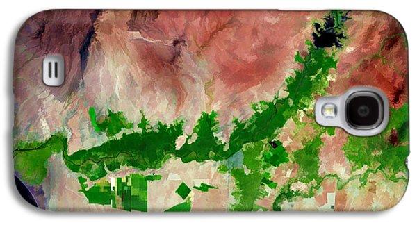 Chira River Peru Galaxy S4 Case by Elaine Plesser