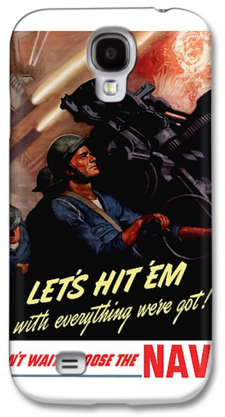 Choose The Navy -- Ww2 Galaxy S4 Case by War Is Hell Store