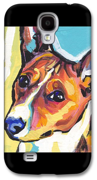 Puppies Galaxy S4 Cases - Chortle Baby Galaxy S4 Case by Lea