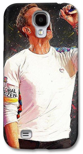 Chris Martin - Coldplay Galaxy S4 Case by Semih Yurdabak