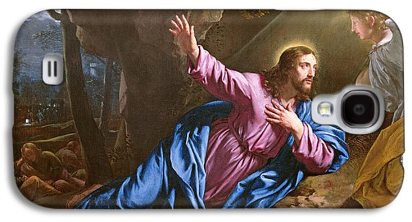 Christ In The Garden Of Olives Galaxy S4 Case by Philippe de Champaigne