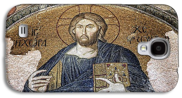 All In The Family Galaxy S4 Cases - Christ Pantocrator -- Chora Galaxy S4 Case by Stephen Stookey