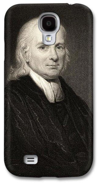Schwartz Galaxy S4 Cases - Christian Friedric Schwartz 1726-1798 Galaxy S4 Case by Ken Welsh