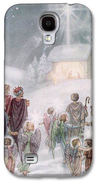 Christmas Card Galaxy S4 Case by Daphne Allan