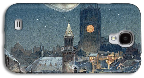 Christmas Card Galaxy S4 Case by Thomas Moran