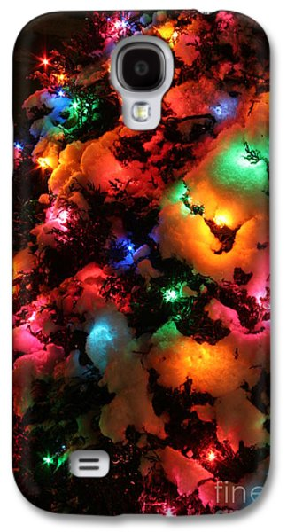 Christmas Lights Coldplay Galaxy S4 Case by Wayne Moran
