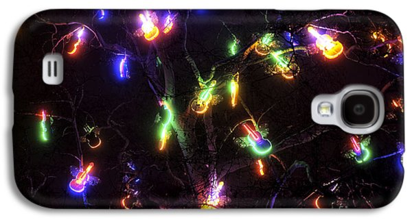 Christmas Violins Galaxy S4 Case by John Rizzuto