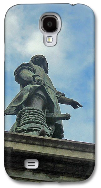 Ancient Galaxy S4 Cases - Christopher Columbus monument Galaxy S4 Case by Andy Za