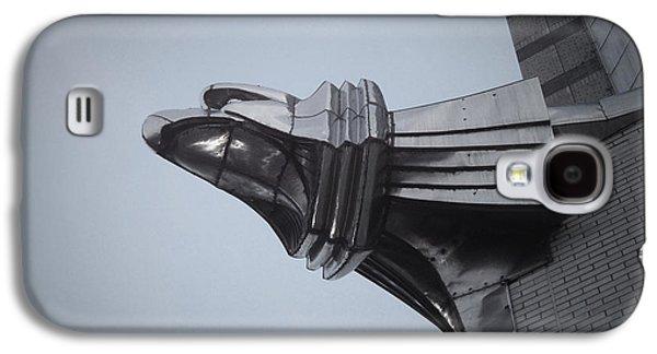 Manhattan Street Galaxy S4 Cases - Chrysler Building Detail Galaxy S4 Case by Naxart Studio
